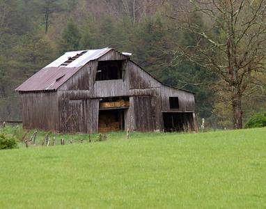 Barns Near Fall Creek Falls