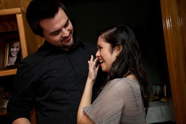 Maya + David get Engaged
