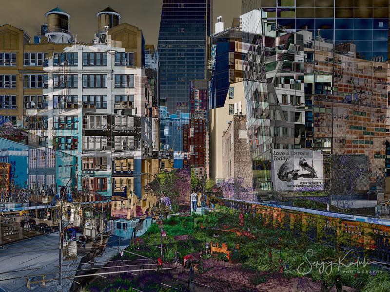 Walking the Highline, New York