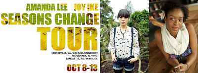 2012.11.01 | Live Show: Seasons Change Start With Amanda & Joy