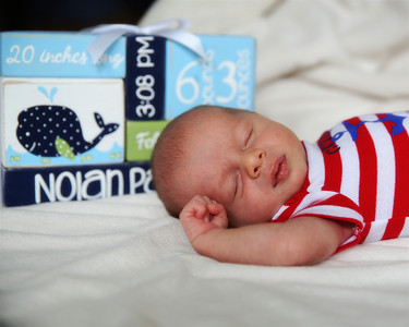 Nolan--3 Weeks Old