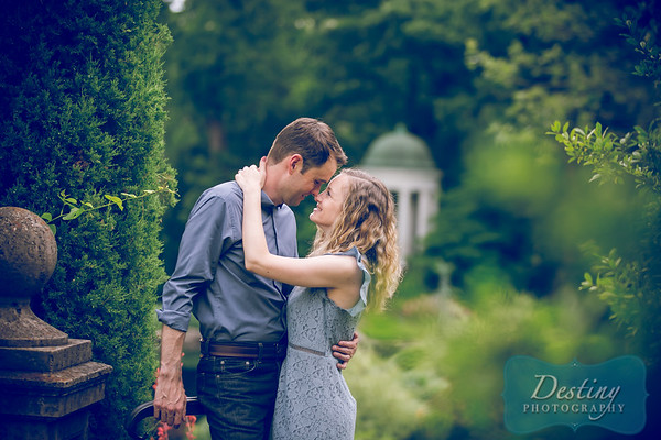 Hayley and Chad's Engagement Pix @Philbrook