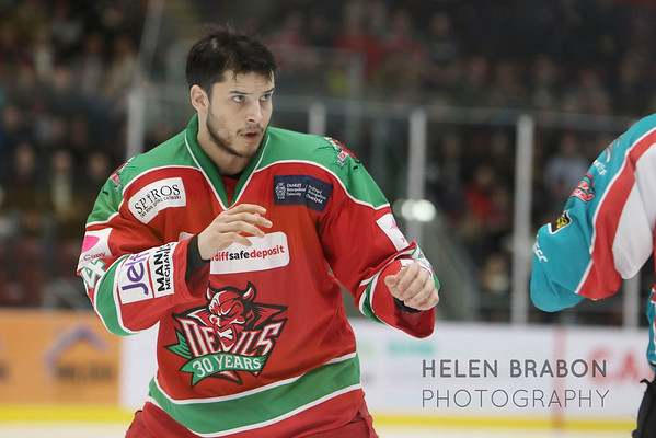 Cardiff Devils vs Belfast Giants 14-01-17