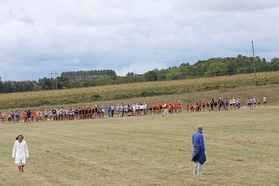 Charlevoix Mud Run - Freshman and Sophomore  Girls Start