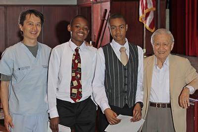 2012 8th Grade Advancement Ceremony