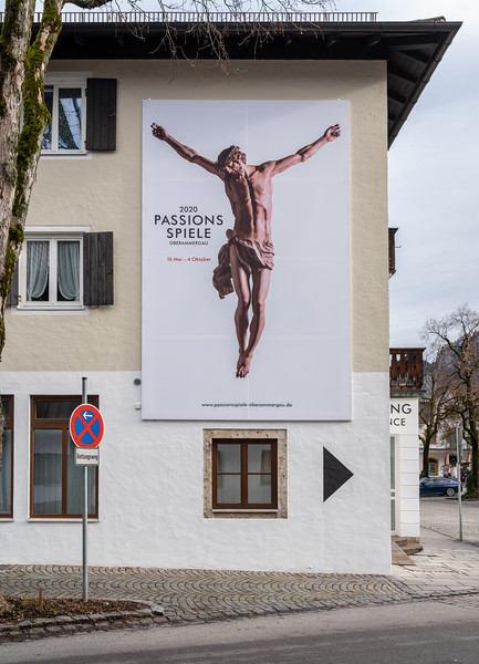 Poster for the 2020 Passion Play