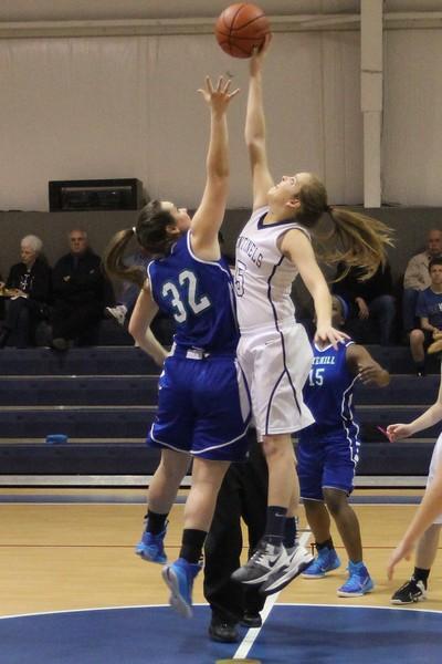Varsity Girls Basketball at Longview Christian 2.6.15
