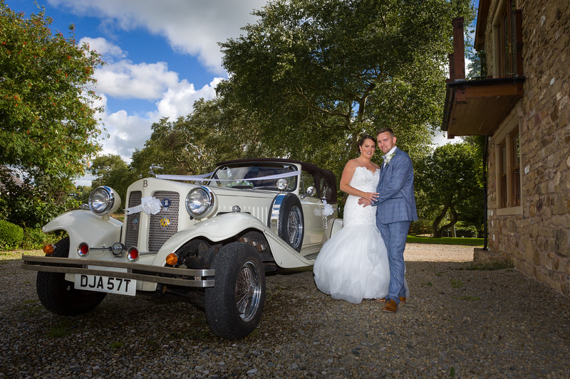 Danny and Natalie married at Christ Church in Thornton, had their quiet time photographs  at Mill House Churchtown and their reception at The Wyrebank in Garstang.