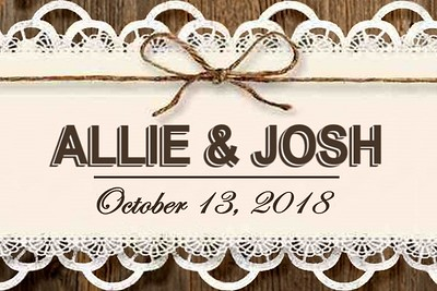 Allie & Josh Wedding - October 13, 2018