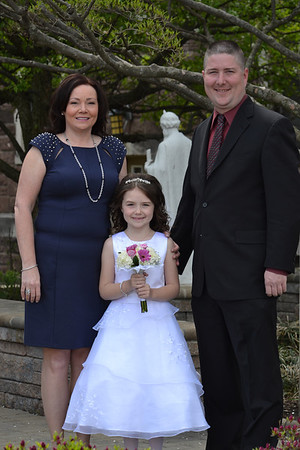 Erin Joyce's 1st Communion - May 05, 2014