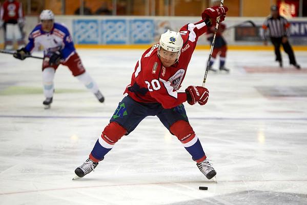 Lørenskog Ishockey - Vålerenga Hockey (13.9.14)