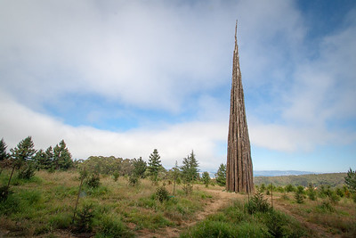 Andy Goldsworthy Spire - Presidio of San Francisco #0239