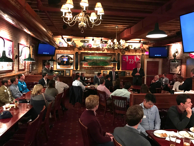2017 Boston Reception at The Fours