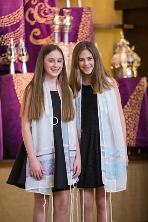 10/14/17 Annie & Sophie Bat Mitzvah