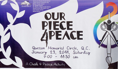 Our Piece 4 Peace- Quezon City, Philippines 1/29/11