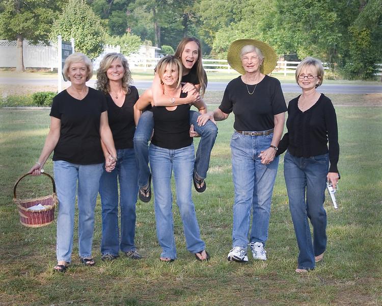 Steel Magnolias - Margaret, Ashley, Brenda, Robin, Virginia & Cindy