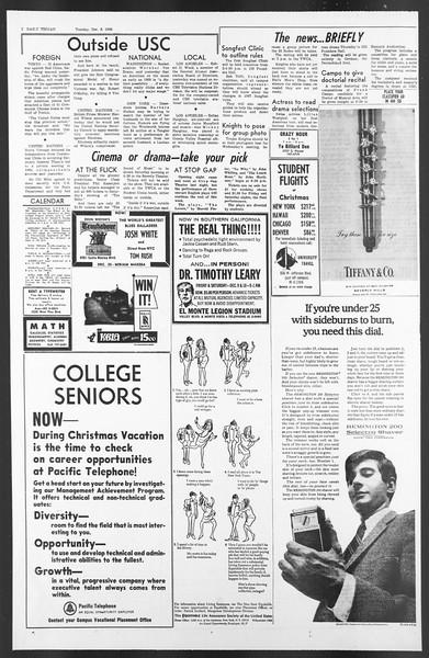 Daily Trojan, Vol. 58, No. 52, December 06, 1966