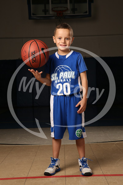 St Paul Royals CYO Basketball (John Nathan Team)