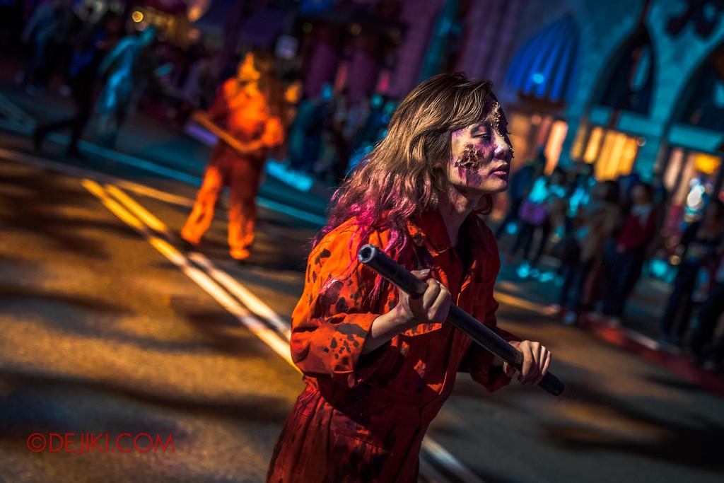 Universal Studios Japan - Halloween Horror Nights 2017 / Street Zombie scare zone