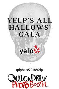 Yelp's All Hallow's Gala
