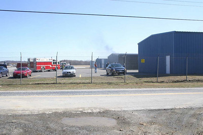 Dutchess County Airport Hanger Fire - March 30, 2008