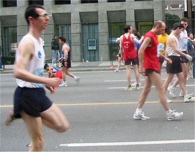 2003 Vancouver Sun Run - Dave Matte, Paddy McCluskey and Jon Brown