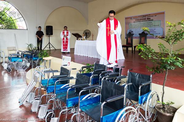 Santo Nino Parish Wheelchair Distribution