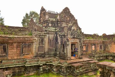 Banteay Srei Temple of Ankgor Wat in Siam Reap, Cambodia