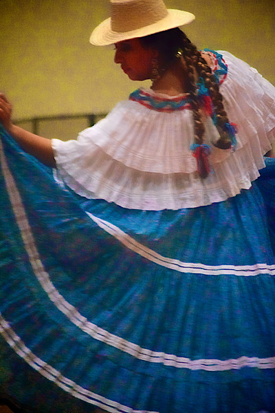 "Traditional ""Tamborito"" Dancer - Panama"