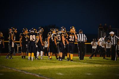 Varsity Football 091115