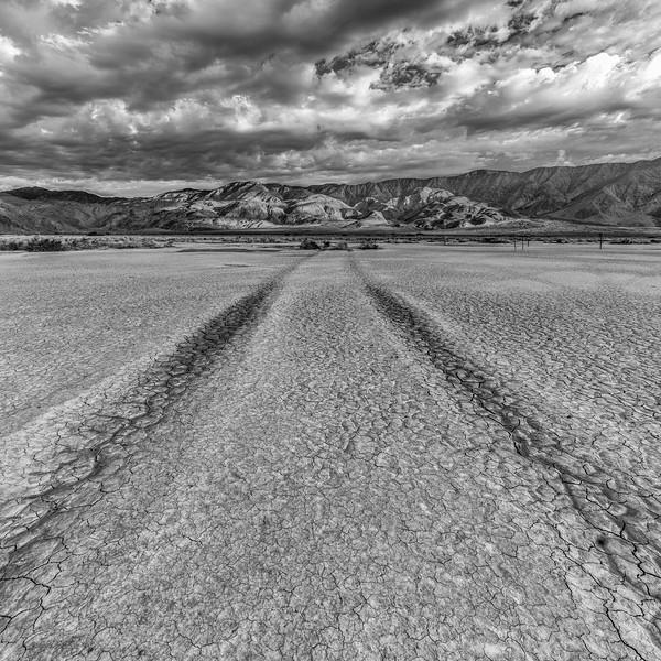 Clark dry lakebed in Anza Borrego Desert State Park