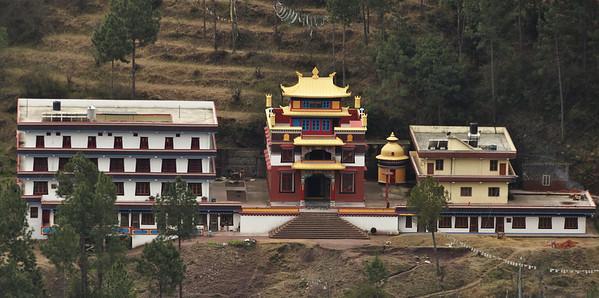 Menri Monastery in Dolangi, H.P.