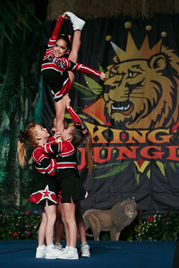 King Of The Jungle Cheer Competition