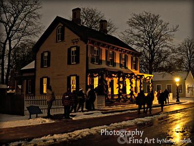 Greenfield Village Holiday Nights 2013