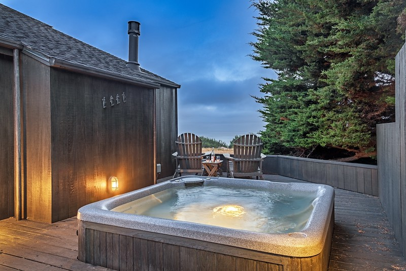 Twilight in the Hot Tub