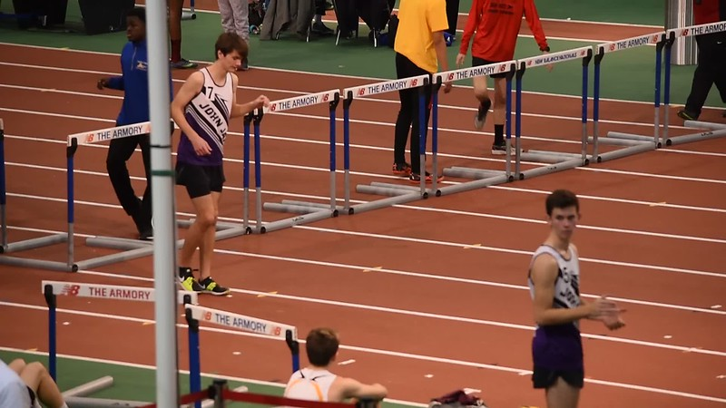 2018-01-21 JJ Track and Field Meet at The Armory