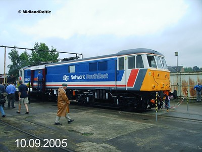 Bombardier Crewe Open Day, 10-09-2005