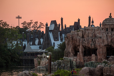 2012.06 Orlando, Universal, Park Harry Potter