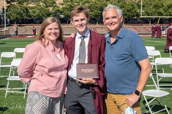 Evan Graduates PHHS