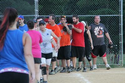 070114 Softball Game
