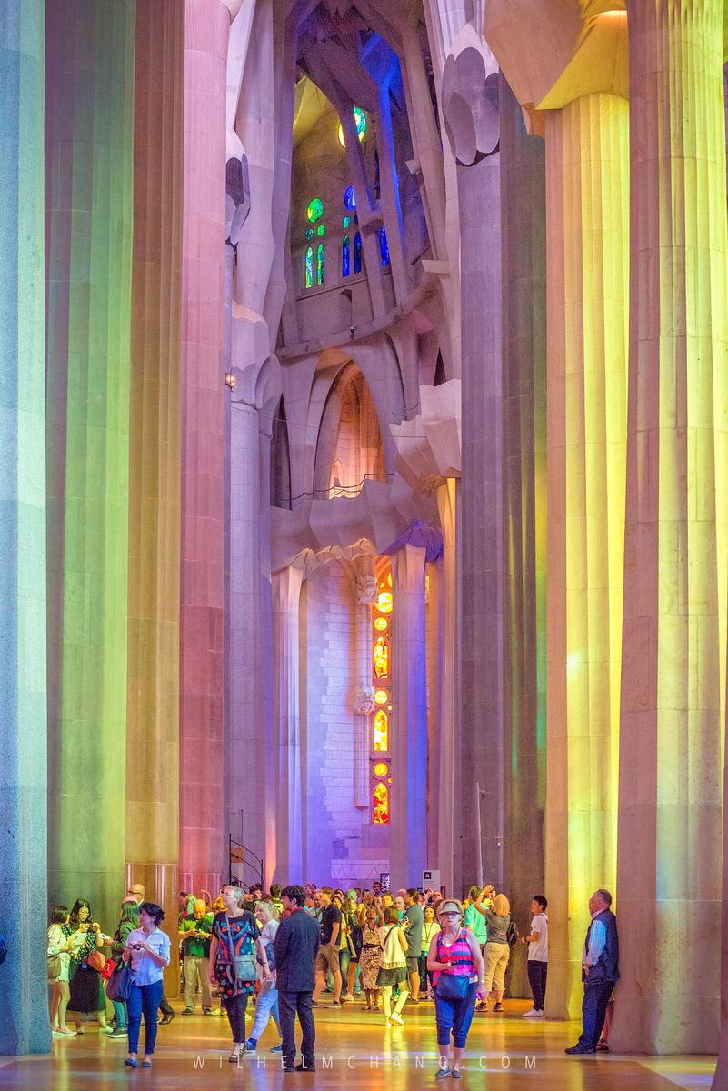 西班牙巴賽隆納景點 聖家堂 La Sagrada Familia 歷史介紹與門票購買與登塔建議