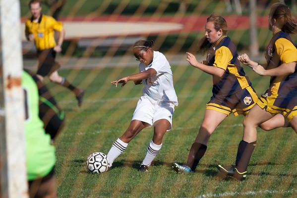 2012 0913 CRLS girls vs Arlington Catholic