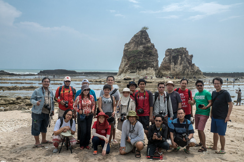 Tour Sawarna, November 2014