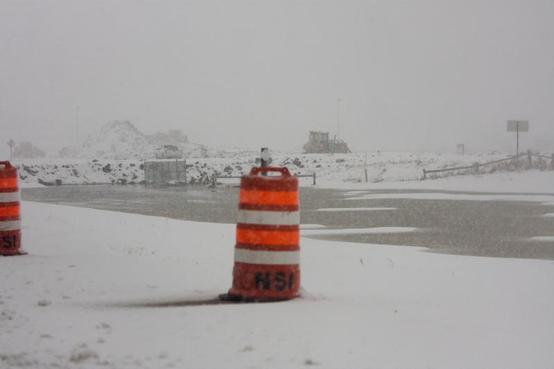 Cones, dikes, and bulldozers