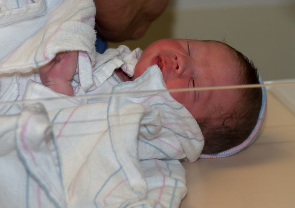 Caleb First Week