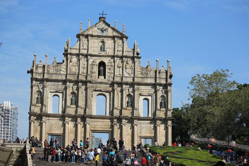 St Pauls Ruins, Macau