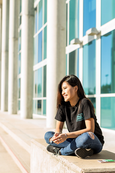 TAMU-CC international student Tu Luong