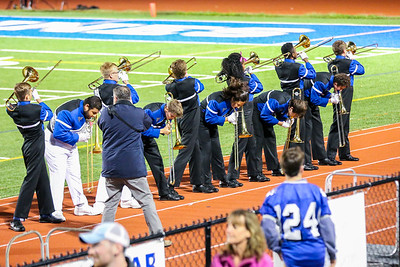 WP Football Senior Night Band and Hype Squad