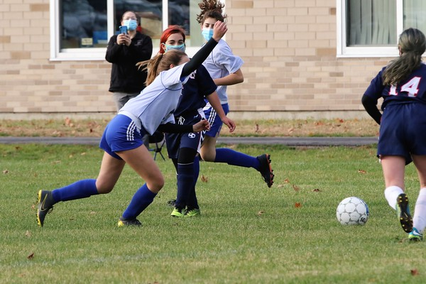 SLC MODIFIED GIRLS SOCCER/ST.REGIS FALLS