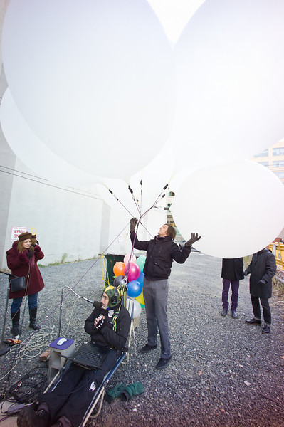 Bronwyn, Ken, Balloons.